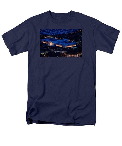 Chicago Field Museum Men's T-Shirt  (Regular Fit) by Richard Zentner