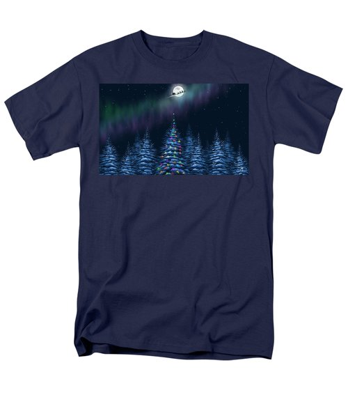 Men's T-Shirt  (Regular Fit) featuring the painting Christmas Eve by Veronica Minozzi