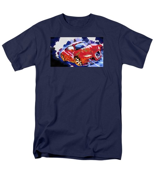 Chubby Car Red Men's T-Shirt  (Regular Fit) by Catherine Lott