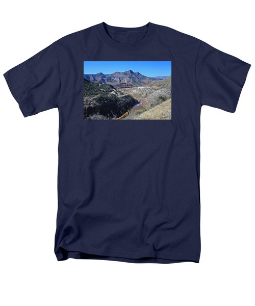 Clear And Rugged Men's T-Shirt  (Regular Fit) by Gary Kaylor