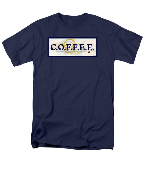 Coffee For Christ Men's T-Shirt  (Regular Fit)
