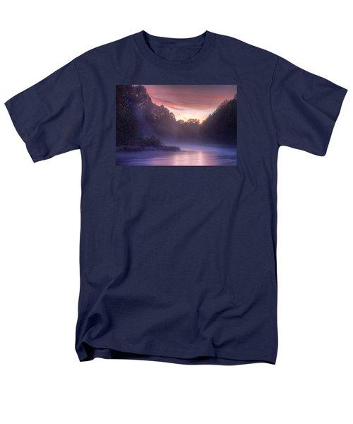 Cold Blue Mist Men's T-Shirt  (Regular Fit) by Robert Charity