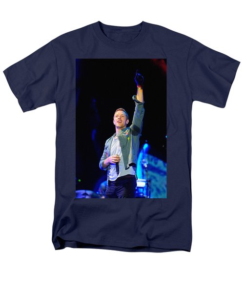 Coldplay8 Men's T-Shirt  (Regular Fit) by Rafa Rivas
