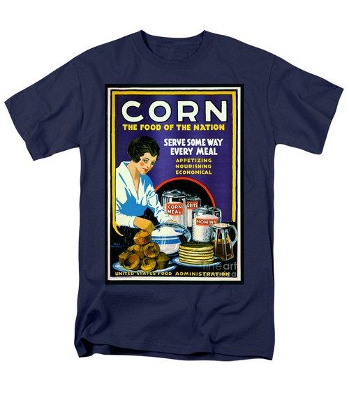 Corn 1918 Men's T-Shirt  (Regular Fit) by Padre Art