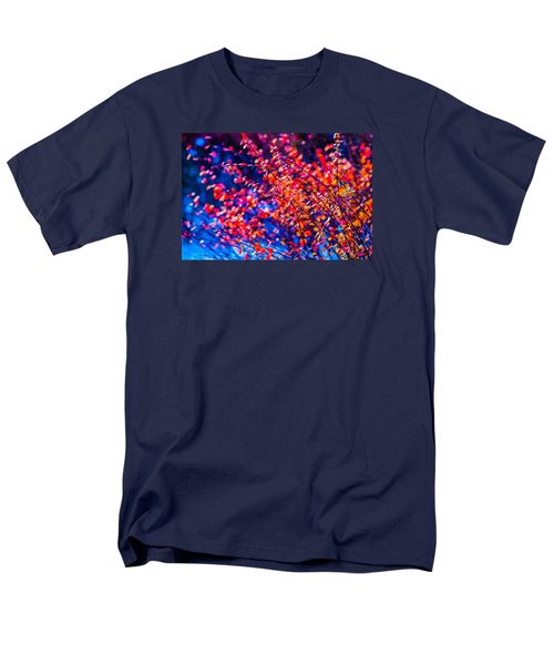 Men's T-Shirt  (Regular Fit) featuring the photograph Cotoneaster In Winter by Alexander Senin