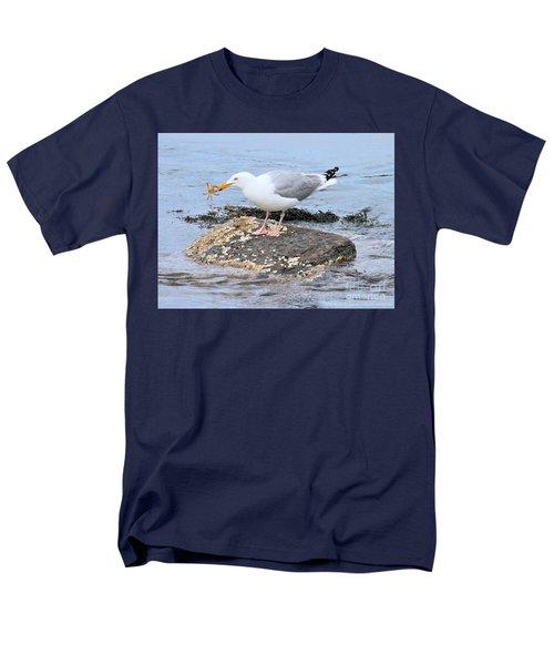 Crab Legs Men's T-Shirt  (Regular Fit) by Debbie Stahre