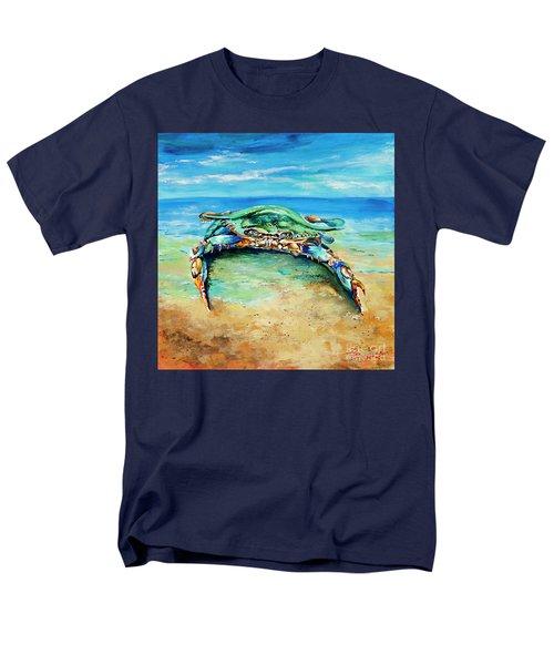 Crabby At The Beach Men's T-Shirt  (Regular Fit)
