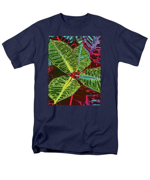 Croton - Deep Green Men's T-Shirt  (Regular Fit) by Kerri Ligatich