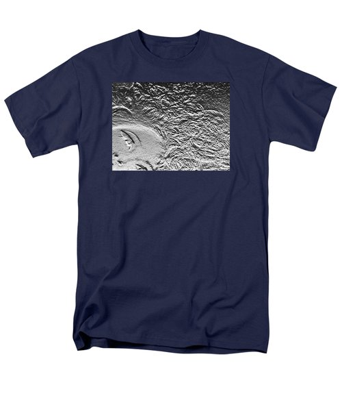 Men's T-Shirt  (Regular Fit) featuring the digital art Crystalized by Lyric Lucas