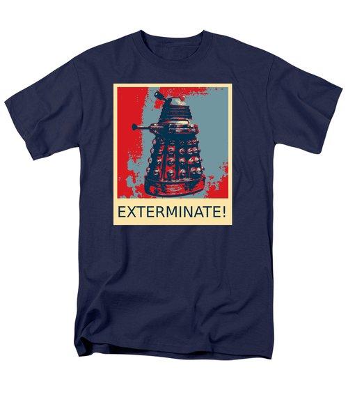 Dalek - Exterminate Men's T-Shirt  (Regular Fit) by Richard Reeve