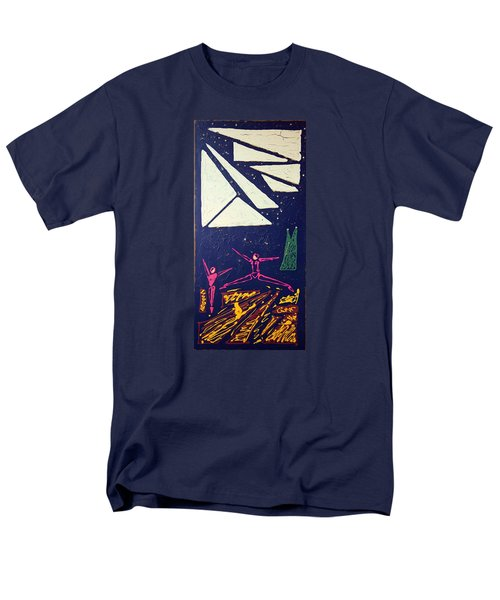 Dancing Under The Starry Skies Men's T-Shirt  (Regular Fit) by J R Seymour