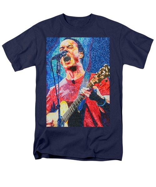 Dave Matthews Squared Men's T-Shirt  (Regular Fit) by Joshua Morton