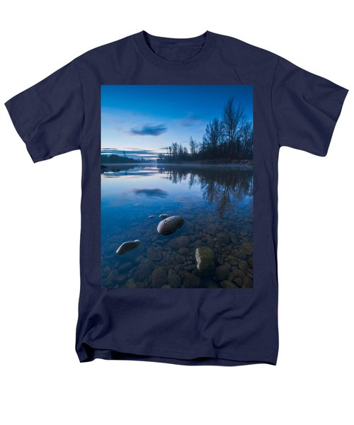 Dawn At River Men's T-Shirt  (Regular Fit) by Davorin Mance