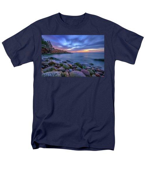 Dawn In Monument Cove Men's T-Shirt  (Regular Fit) by Rick Berk