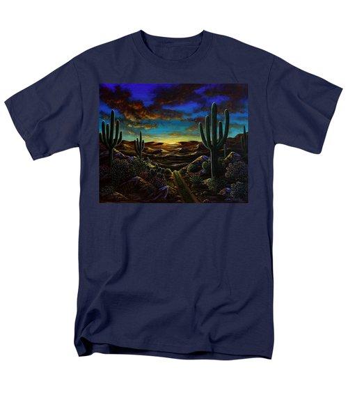 Desert Trail Men's T-Shirt  (Regular Fit) by Lance Headlee