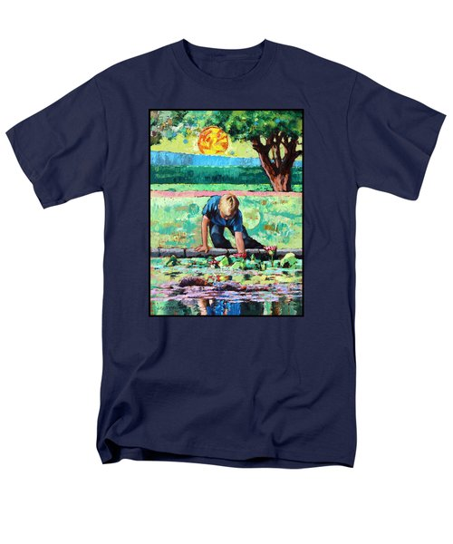 Discovering A World Of Beauty Men's T-Shirt  (Regular Fit) by John Lautermilch