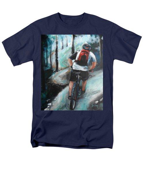 Dodging Trees Men's T-Shirt  (Regular Fit)