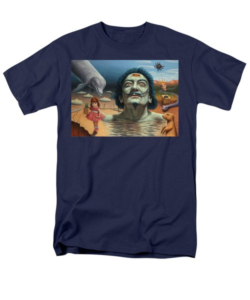 Dolly In Dali-land Men's T-Shirt  (Regular Fit) by James W Johnson