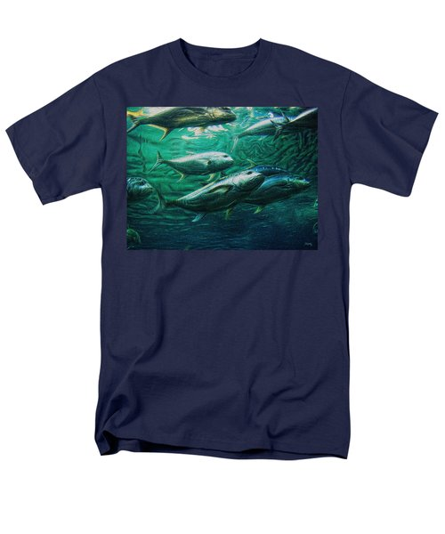 Men's T-Shirt  (Regular Fit) featuring the photograph Don't Mess With Bluefin Jack by Glenn McCarthy