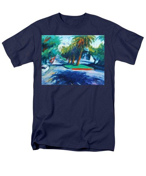 Downhill Men's T-Shirt  (Regular Fit) by Rick Nederlof