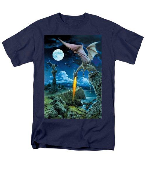 Dragon Spit Men's T-Shirt  (Regular Fit) by The Dragon Chronicles - Robin Ko