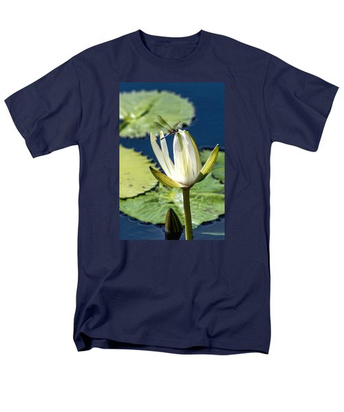 Men's T-Shirt  (Regular Fit) featuring the photograph Dragonfly by Susi Stroud