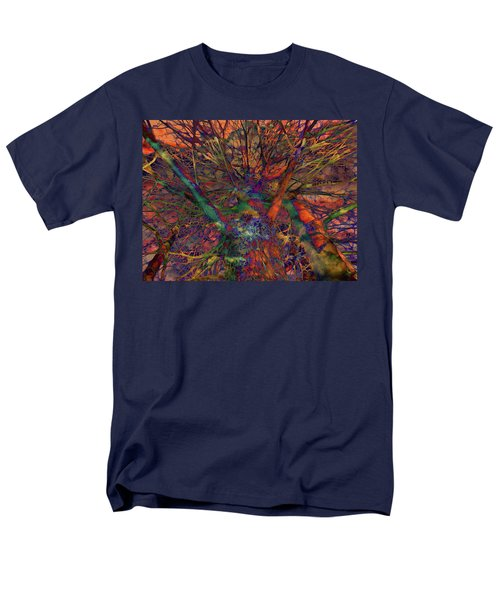 Men's T-Shirt  (Regular Fit) featuring the digital art Dreamers by Robert Orinski