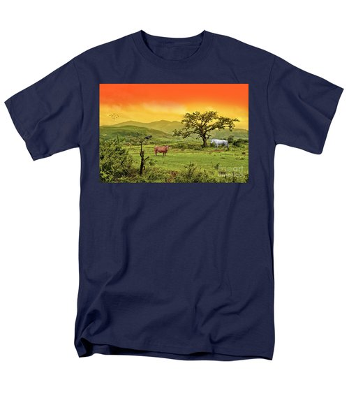 Men's T-Shirt  (Regular Fit) featuring the photograph Dreamland by Charuhas Images