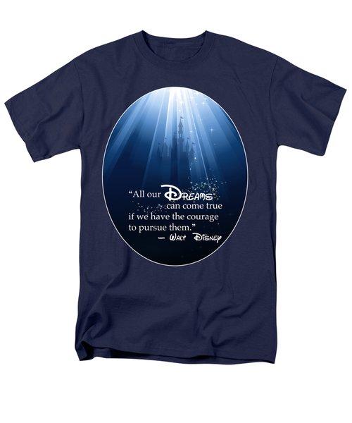 Dreams Can Come True Men's T-Shirt  (Regular Fit)