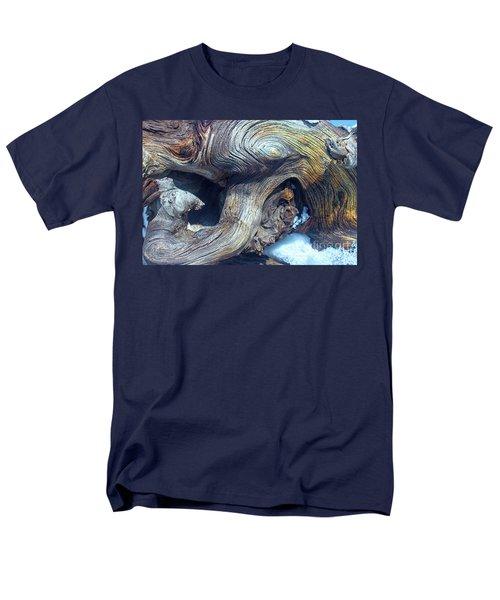 Driftwood Swirls Men's T-Shirt  (Regular Fit) by Todd Breitling