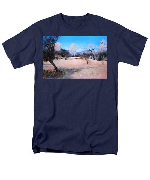 Dry Wash In Winter Men's T-Shirt  (Regular Fit)