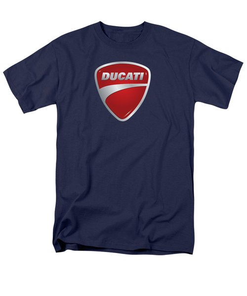 Ducati By Moonlight Men's T-Shirt  (Regular Fit) by Movie Poster Prints