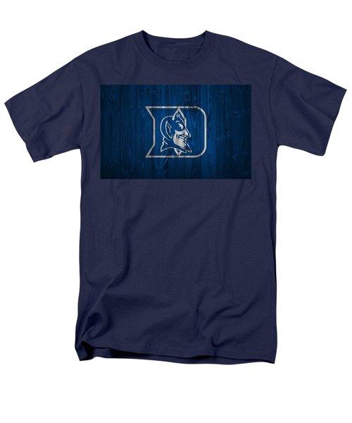 Duke Blue Devils Barn Door Men's T-Shirt  (Regular Fit) by Dan Sproul