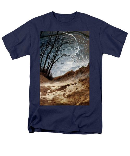 Dunes Men's T-Shirt  (Regular Fit) by Joan Ladendorf