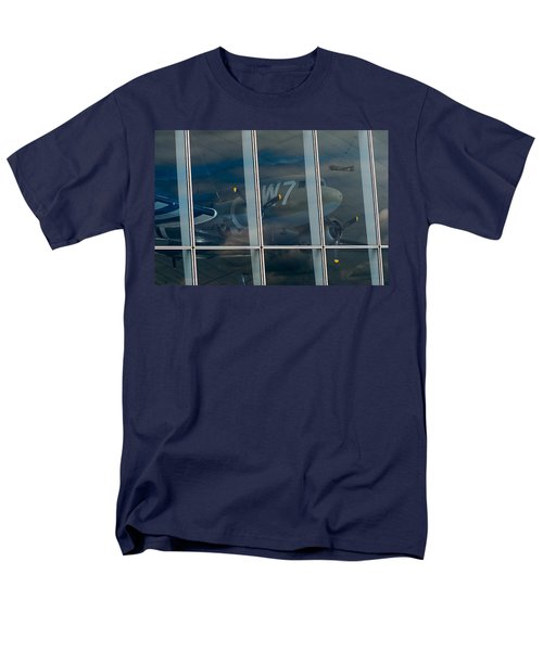 Men's T-Shirt  (Regular Fit) featuring the photograph Duxford Dakota Daydream by Gary Eason