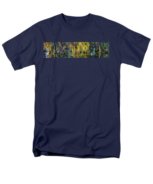 Early Morning Swampscape Men's T-Shirt  (Regular Fit) by Kimo Fernandez