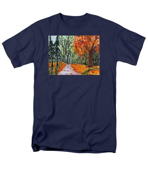 Early October Men's T-Shirt  (Regular Fit) by Jack G  Brauer
