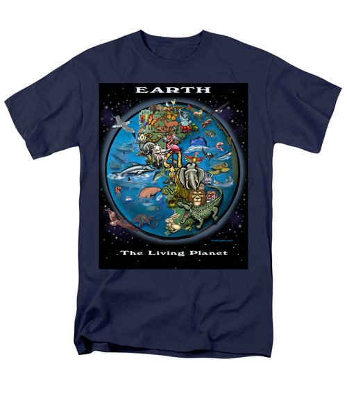 Earth Men's T-Shirt  (Regular Fit) by Kevin Middleton