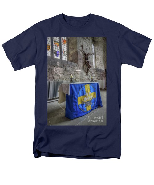 Men's T-Shirt  (Regular Fit) featuring the photograph Easter  The Resurrection Of Jesus by Ian Mitchell