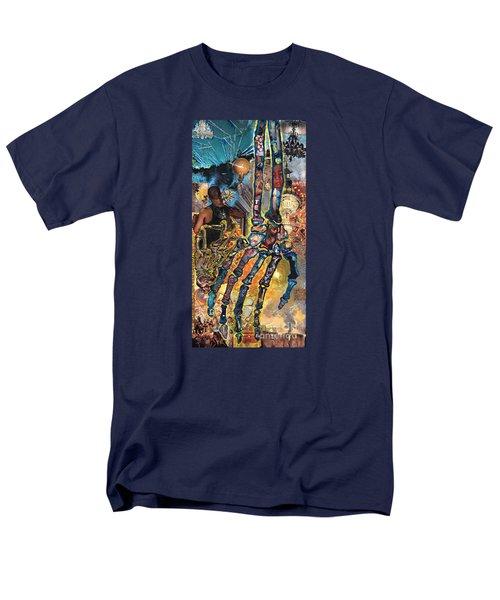 Electricity Hand La Mano Poderosa Men's T-Shirt  (Regular Fit) by Emily McLaughlin