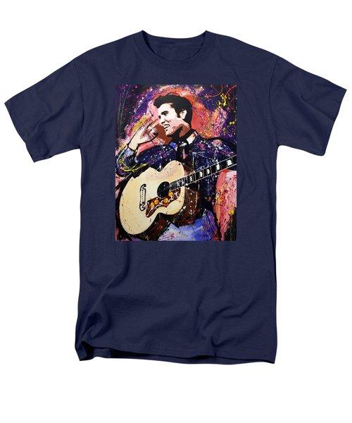 Elvis Presley Men's T-Shirt  (Regular Fit) by Richard Day