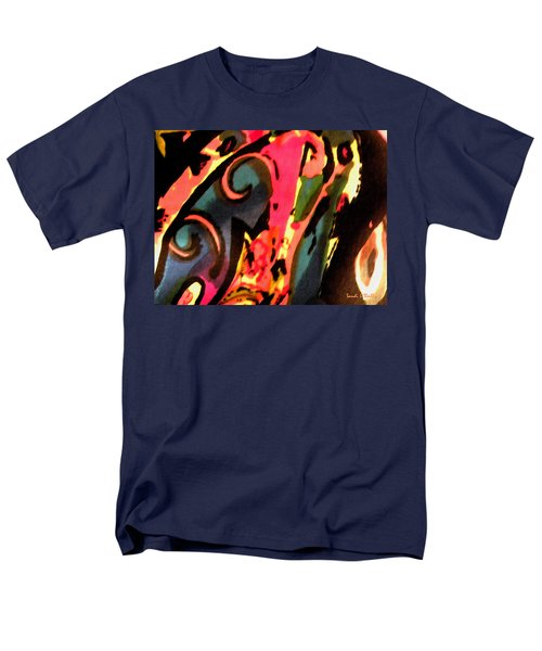 Men's T-Shirt  (Regular Fit) featuring the mixed media En Joy by Sandi OReilly