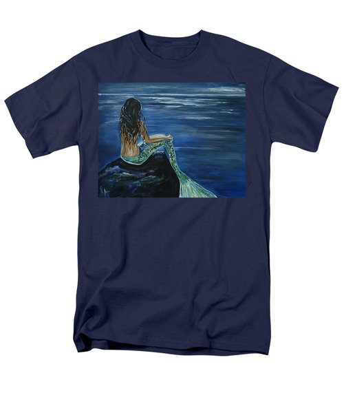 Enchanted Mermaid Men's T-Shirt  (Regular Fit) by Leslie Allen