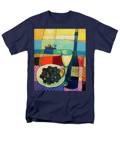 Escargot Men's T-Shirt  (Regular Fit) by Mikhail Zarovny