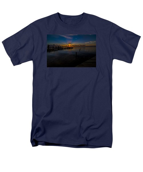 evening in Key Largo Men's T-Shirt  (Regular Fit) by Kevin Cable