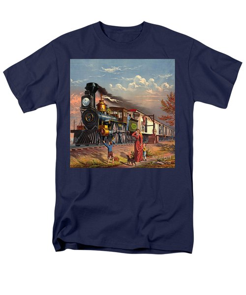 Fast Mail 1875 Men's T-Shirt  (Regular Fit) by Padre Art