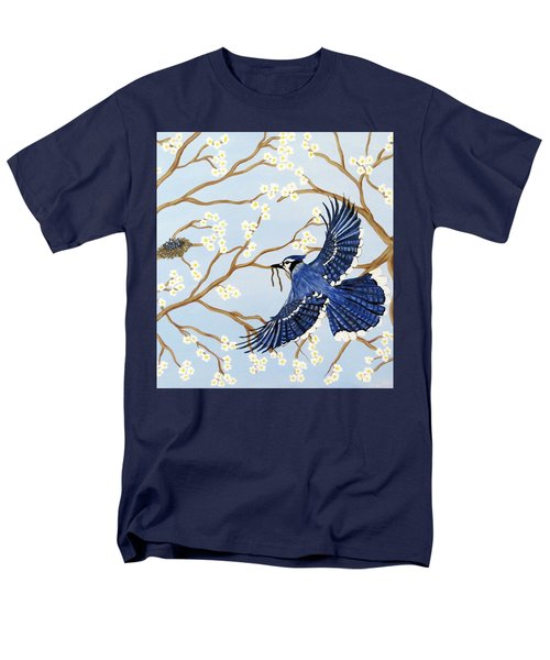 Men's T-Shirt  (Regular Fit) featuring the painting Feeding Time by Teresa Wing