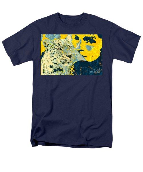 Feline Looks Men's T-Shirt  (Regular Fit) by Zedi