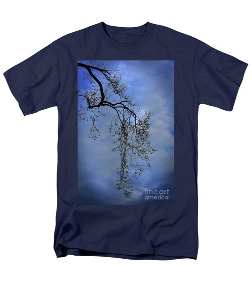 Men's T-Shirt  (Regular Fit) featuring the photograph Filigree From On High by Skip Willits