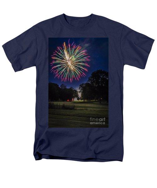 Fireworks Beauty Men's T-Shirt  (Regular Fit)